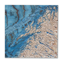 3D wood map of Northern Norway
