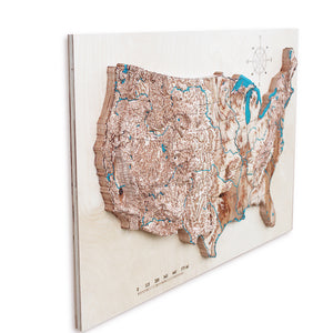 3D map of United States, World map wall art, wood map, wooden map, wooden maps, wood maps, 3d wooden maps, 3d wood map, gifts for men, 3d wall art, wood topo map, wood topo maps, wood topgraphical map, wood topographical maps, maps on wood, wood carved map, USA wood map, 3d wooden map of the US
