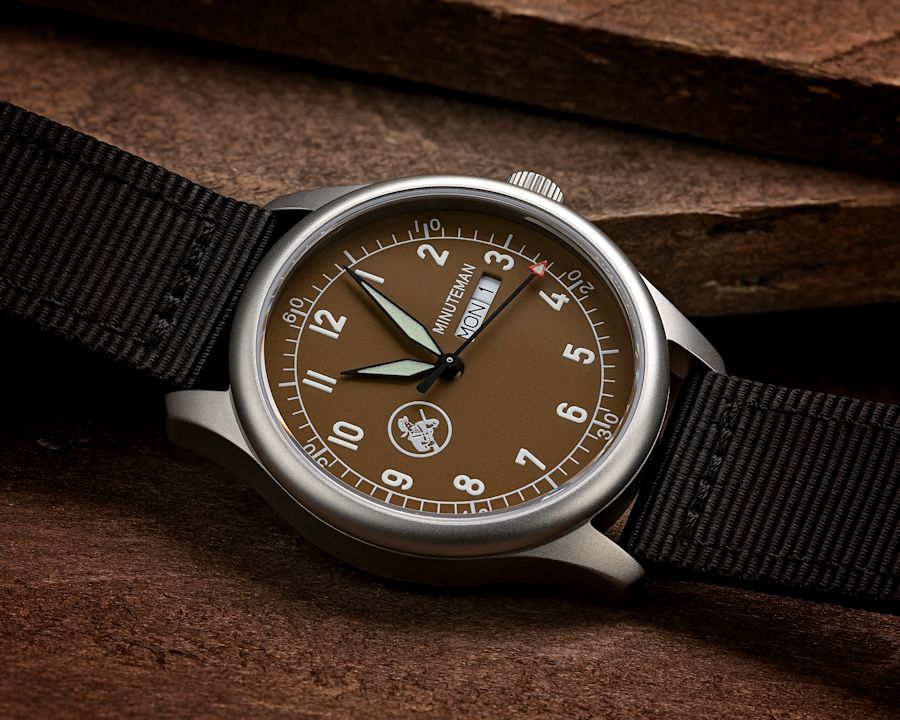 Minutmen A11: Watches assembled in the USA with assembled in the USA movements