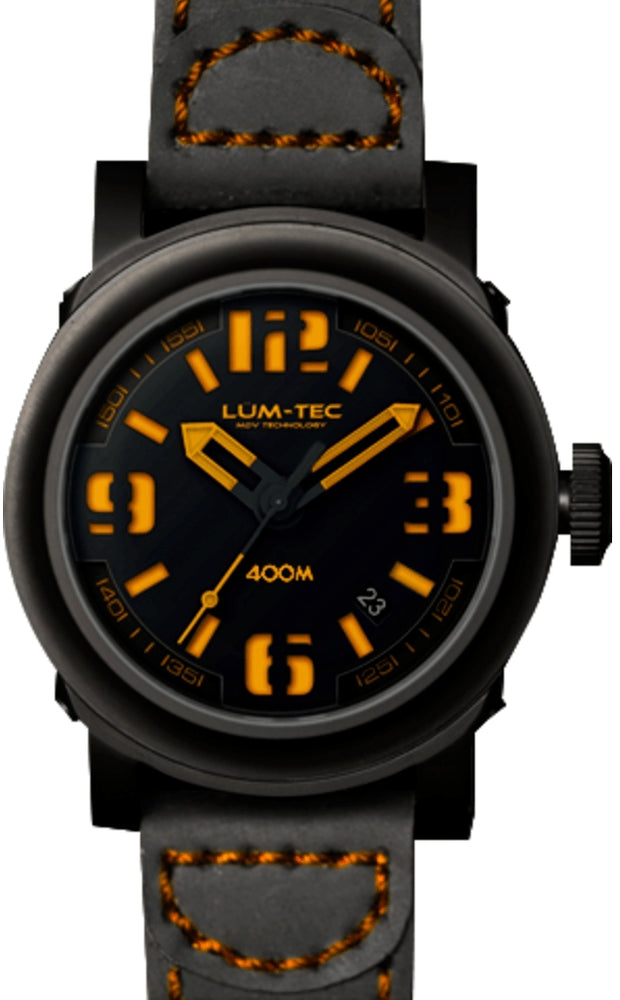 Lum-Tec Abyss 600M-4 48mm Men's Wristwatch - The CGA Company