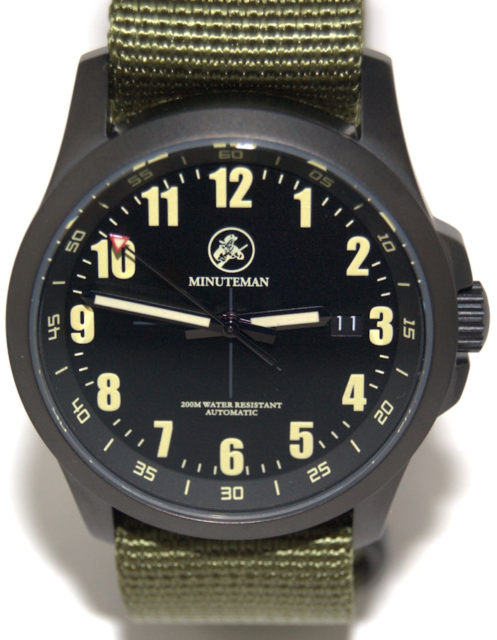 Minuteman Alpha DLC USA assembled wristwatch - The CGA Company