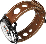 Minuteman Parker Chronograph Panda Dial Wristwatch Brushed - The CGA Company