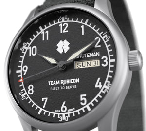 Minuteman  Team Rubicon A11 Watch Black Dial Ameriquartz USA Movt. (Pre-Order) - The CGA Company