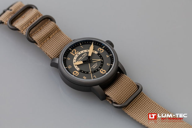 Lum-Tec Combat B45 GMT Field Watch