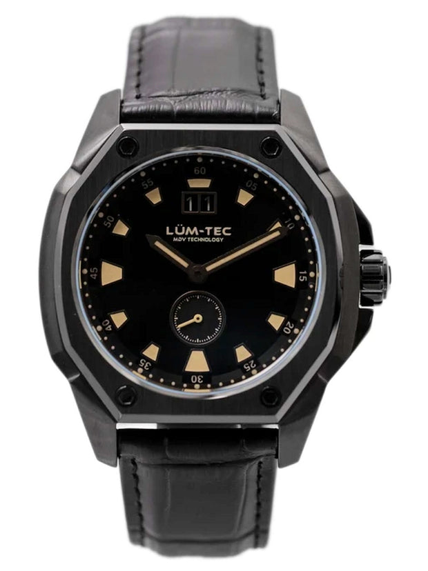 Lum-Tec V11 Phantom Swiss Movement 44mm Ohio Assembled Wristwatch