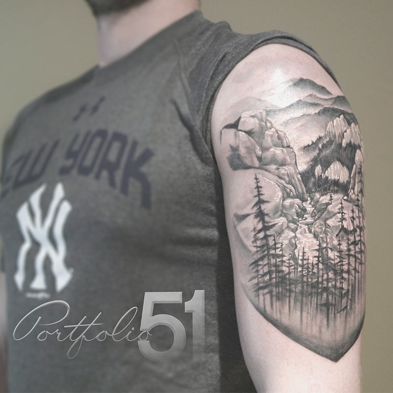 Portfolio 51 Valley Nature Tattoo
