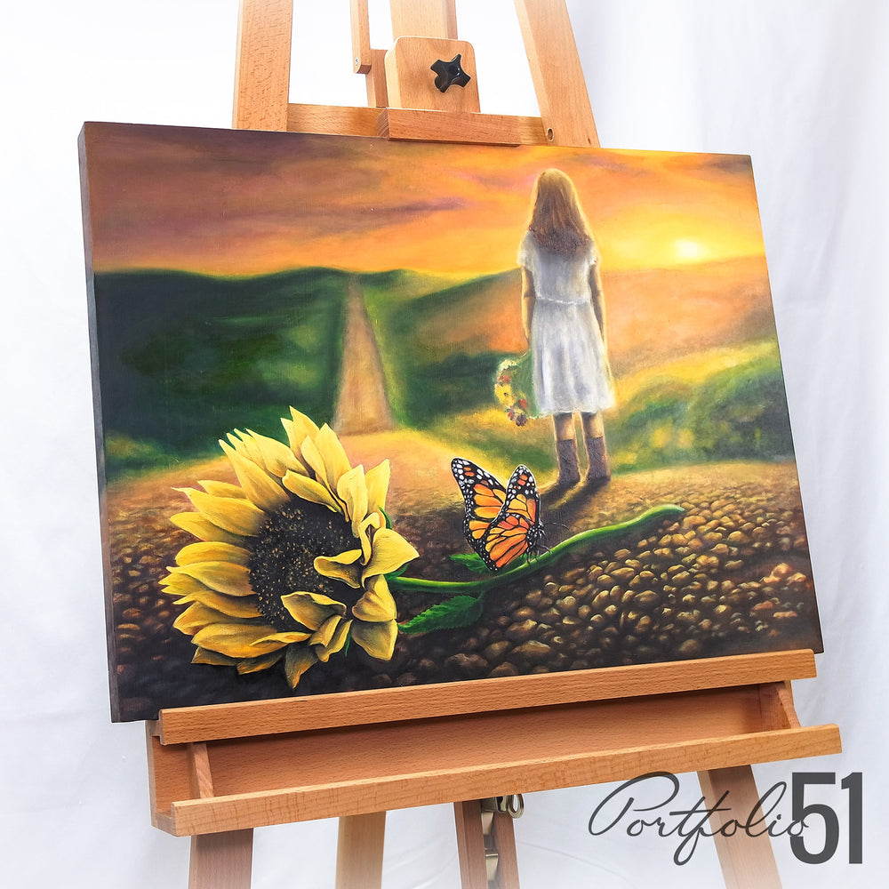 Portfolio 51 Memories Oil Painting