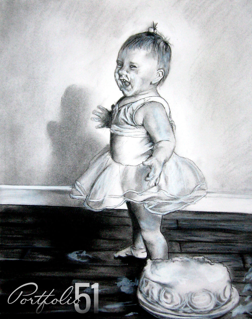 Portfolio 51 Baby Birthday Drawing