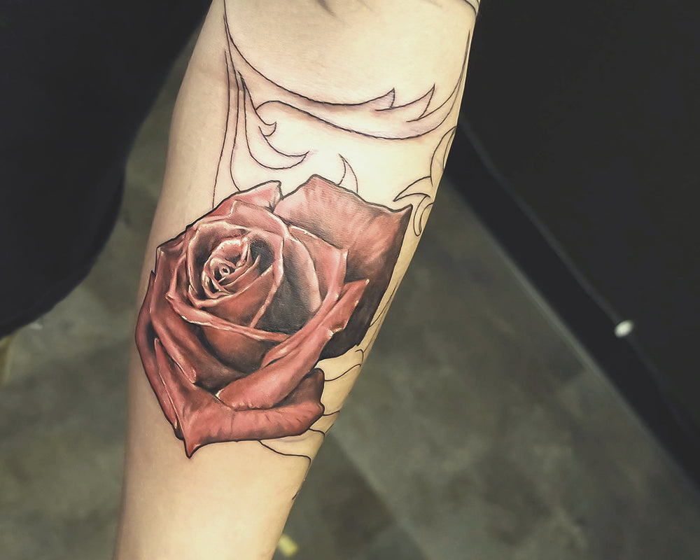 Portfolio 51 Rose Tattoo