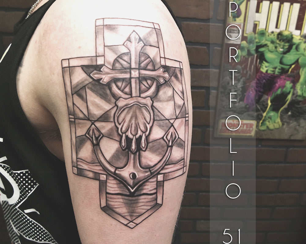 Portfolio 51 Stained Glass Tattoo