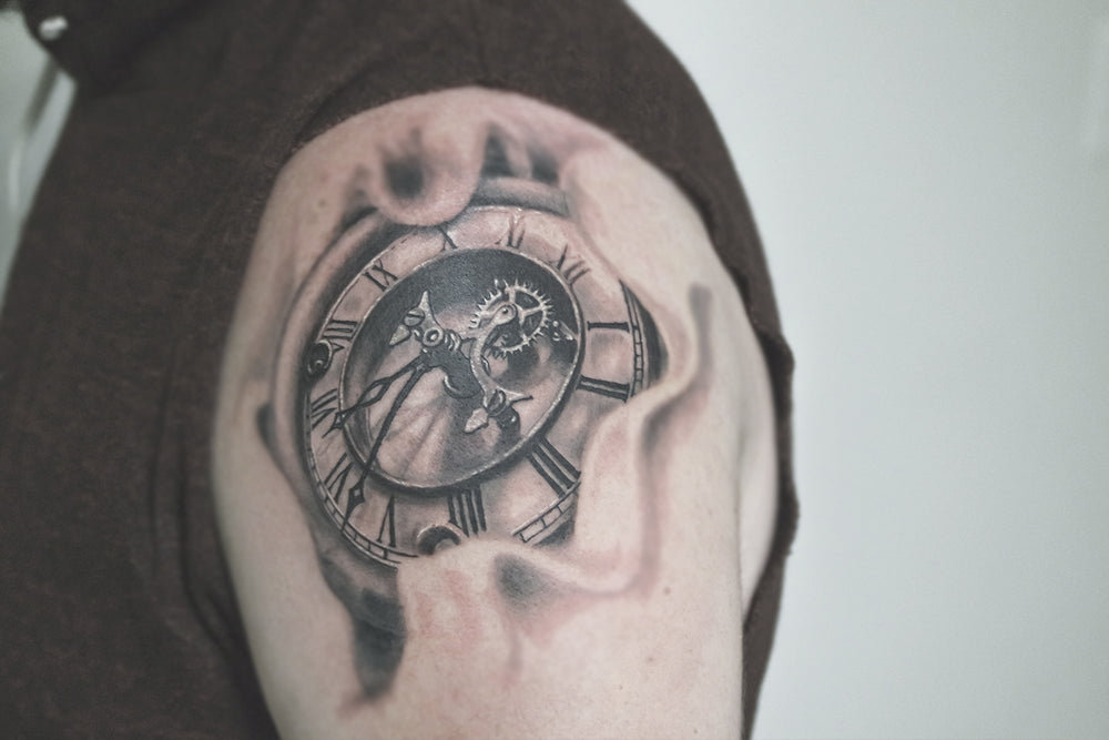 Portfolio 51 Clock Tattoo