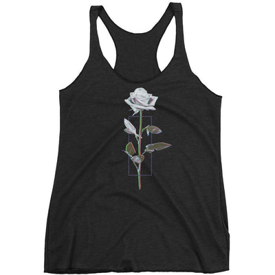 Women - Apparel - Tanks, Women's P51 Rose Tank Tri-blend - Portfolio 51