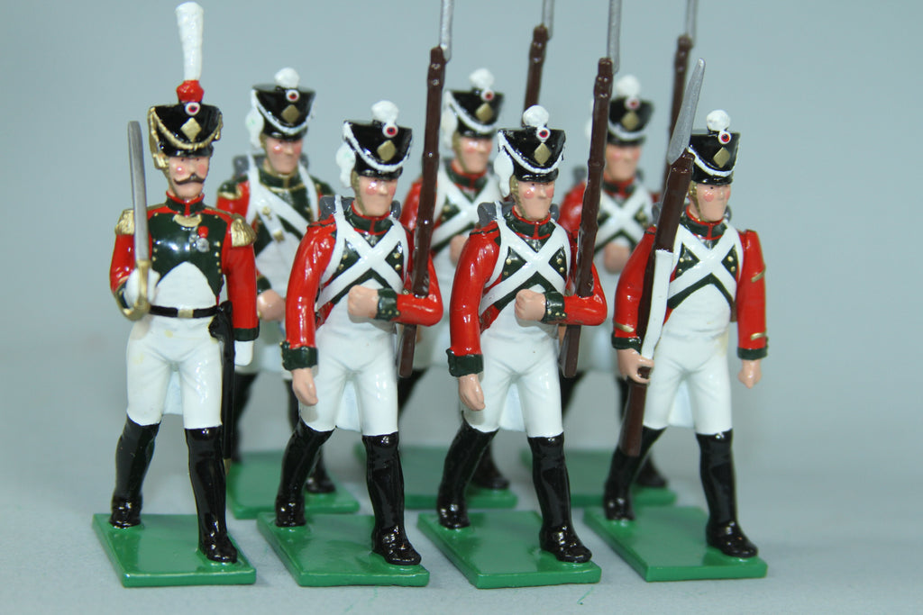 N504 - Napoleonic French Garde de Paris, 2e Regiment Chasseur 1807. Regal Toy Soldiers