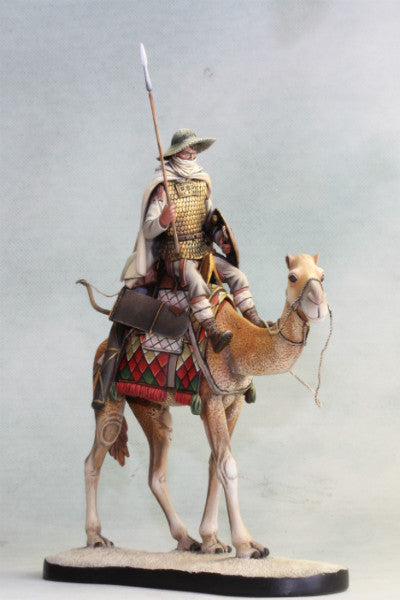 YZ75016 - Camel mounted Roman Soldier from YZCaesar - Piers Christian Toy Soldiers - 2