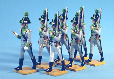 BG109 - Lowenstein's Chasseurs, Eastern Caribbean 1797 from Beau Geste - Piers Christian Toy Soldiers