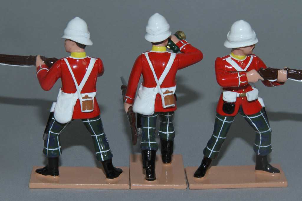 SC92G - 2nd Battalion Highland Light Infantry for Egypt/Sudan Campaign of 1882/85 from Regal Toy Soldiers