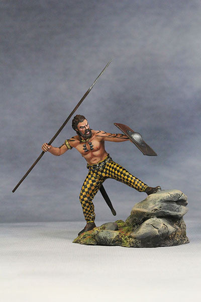 YZ54007- Savage Celt (The 1st Century A.D.) from YZCaesar (Seil Figures) - Piers Christian Toy Soldiers - 1