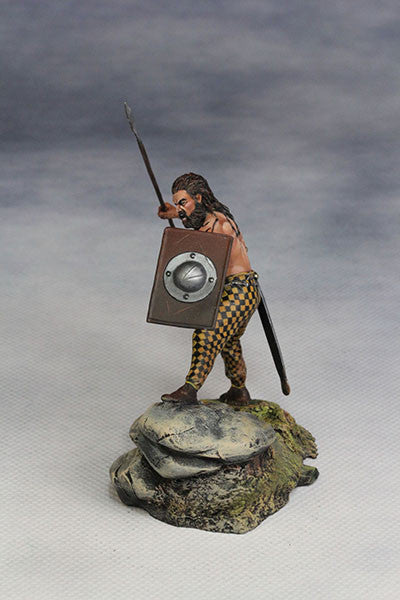 YZ54007- Savage Celt (The 1st Century A.D.) from YZCaesar (Seil Figures) - Piers Christian Toy Soldiers - 2