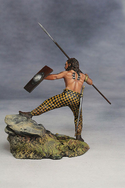 YZ54007- Savage Celt (The 1st Century A.D.) from YZCaesar (Seil Figures) - Piers Christian Toy Soldiers - 3