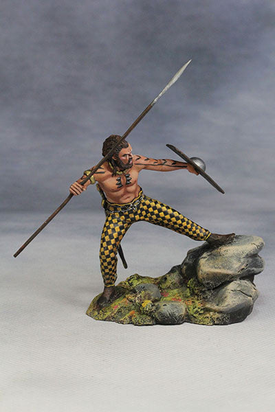YZ54007- Savage Celt (The 1st Century A.D.) from YZCaesar (Seil Figures) - Piers Christian Toy Soldiers - 4