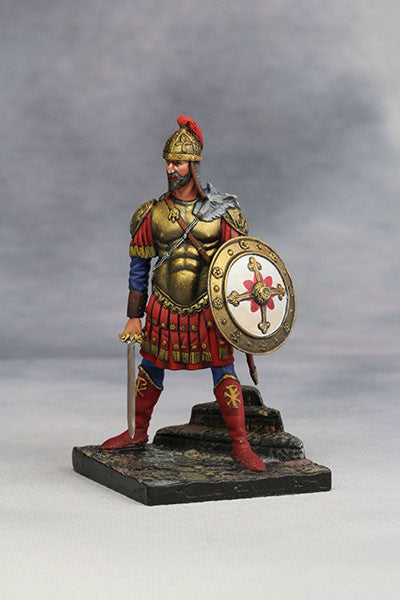 YZ54010 - Byzantine Emperor in Battle Dress (4th-5th Century) from YZCaesar - Piers Christian Toy Soldiers - 1
