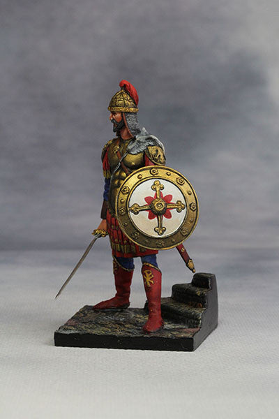 YZ54010 - Byzantine Emperor in Battle Dress (4th-5th Century) from YZCaesar - Piers Christian Toy Soldiers - 2