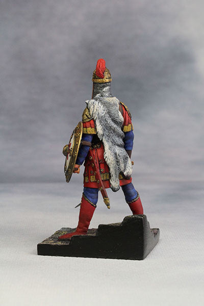 YZ54010 - Byzantine Emperor in Battle Dress (4th-5th Century) from YZCaesar - Piers Christian Toy Soldiers - 3