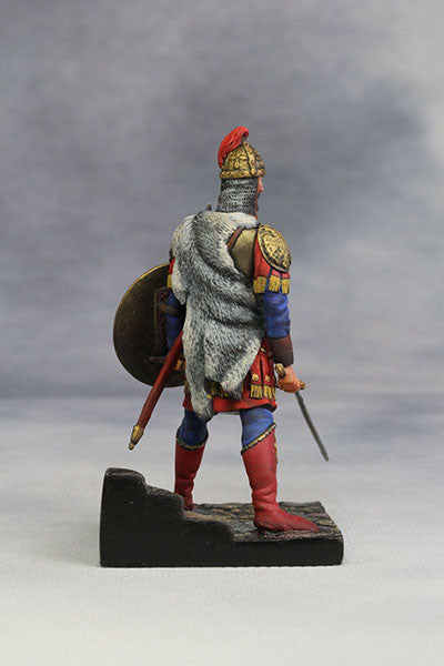 YZ54010 - Byzantine Emperor in Battle Dress (4th-5th Century) from YZCaesar - Piers Christian Toy Soldiers - 5