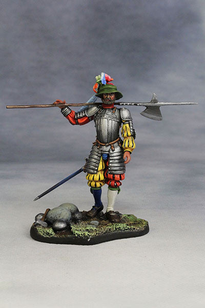 YZ54011 - Captain of Swiss Guard of 1525 by YZCaesar Seil Figures) - Piers Christian Toy Soldiers - 1
