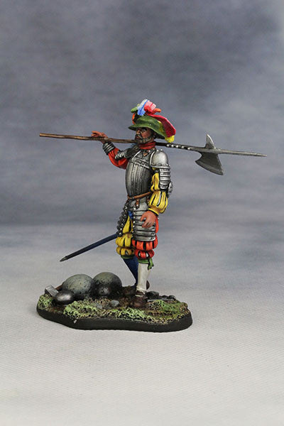 YZ54011 - Captain of Swiss Guard of 1525 by YZCaesar Seil Figures) - Piers Christian Toy Soldiers - 2