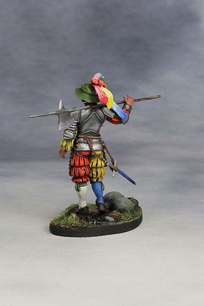 YZ54011 - Captain of Swiss Guard of 1525 by YZCaesar Seil Figures) - Piers Christian Toy Soldiers - 3