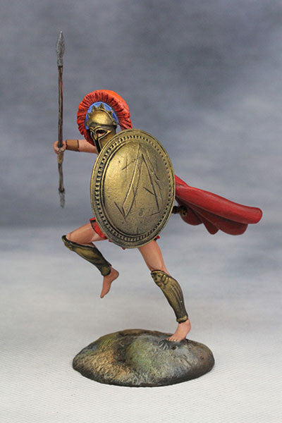 YZ54012 - Spartan Warrior (The 3rd Greco-Persian War/480 B.C.) from YZCaesar - Piers Christian Toy Soldiers - 2