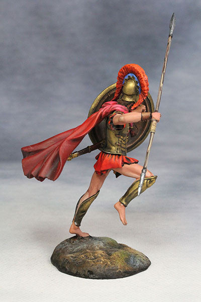 YZ54012 - Spartan Warrior (The 3rd Greco-Persian War/480 B.C.) from YZCaesar - Piers Christian Toy Soldiers - 4