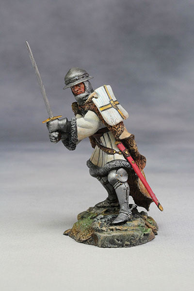YZ54014 - Teutonic Knight (15th Century A.D.) from YZCaesar - Piers Christian Toy Soldiers - 1