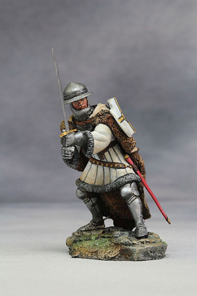 YZ54014 - Teutonic Knight (15th Century A.D.) from YZCaesar - Piers Christian Toy Soldiers - 4