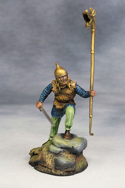 YZ54015 - Celtic Warrior with Carnyx (The 1st Century A.D.) from YZCaesar - Piers Christian Toy Soldiers - 1