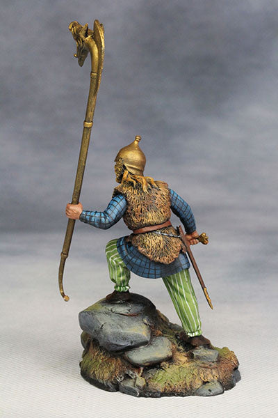 YZ54015 - Celtic Warrior with Carnyx (The 1st Century A.D.) from YZCaesar - Piers Christian Toy Soldiers - 3