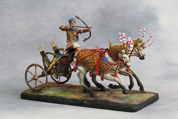 YZ54017 - Egyptian Chariot Pharaoh Ramses II (12th Century B.C.) by YZCaesar - Piers Christian Toy Soldiers - 3