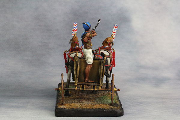 YZ54017 - Egyptian Chariot Pharaoh Ramses II (12th Century B.C.) by YZCaesar - Piers Christian Toy Soldiers - 7