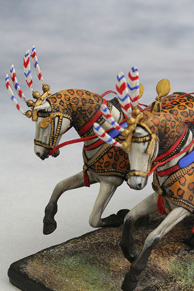 YZ54017 - Egyptian Chariot Pharaoh Ramses II (12th Century B.C.) by YZCaesar - Piers Christian Toy Soldiers - 4