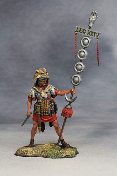 YZ54018 - Roman Signifer (The 1st Century A.D.) from YZCaesar - Piers Christian Toy Soldiers - 1