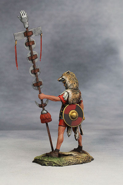 YZ54018 - Roman Signifer (The 1st Century A.D.) from YZCaesar - Piers Christian Toy Soldiers - 3