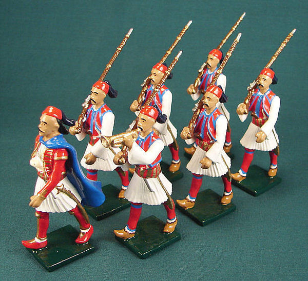 BG235 - Albanian Regiment, Napoleonic forces of 1808, by Beau Geste. - Piers Christian Toy Soldiers