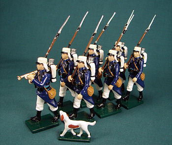BG239 Beau Geste French Foreign Legion Marching Infantry 1900 - Piers Christian Toy Soldiers
