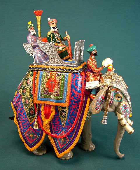 BG245 - State Elephant of Jaipur from the Beau Geste Delhi Durbar range, - Piers Christian Toy Soldiers