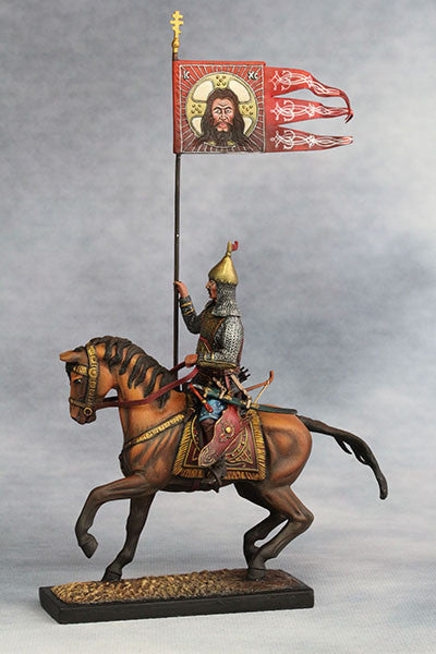 YZ54020 = Standard Bearer, Russian Landed Cavalry (Mid.17th Century A.D.) from YZCaesar - Piers Christian Toy Soldiers - 1