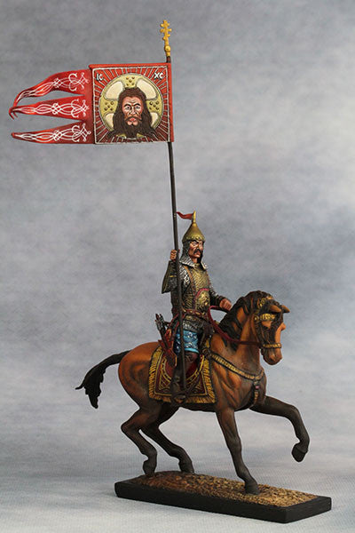 YZ54020 = Standard Bearer, Russian Landed Cavalry (Mid.17th Century A.D.) from YZCaesar