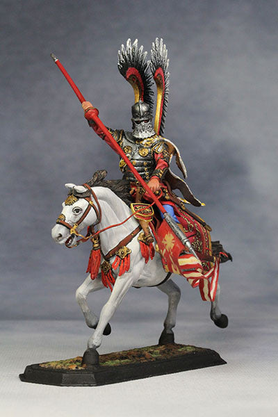YZ54021 - Polish Winged Hussar (1672-83) from YZCaesar - Piers Christian Toy Soldiers - 1