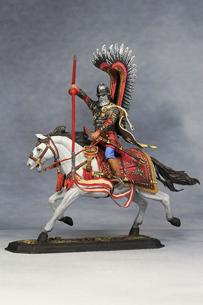 YZ54021 - Polish Winged Hussar (1672-83) from YZCaesar - Piers Christian Toy Soldiers - 2