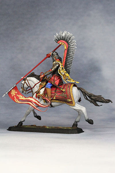 YZ54021 - Polish Winged Hussar (1672-83) from YZCaesar - Piers Christian Toy Soldiers - 3